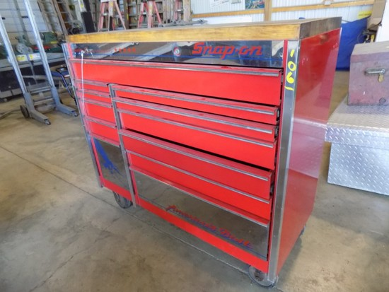 Snap On Special Edition 48'' Chest Style Box w/ Key