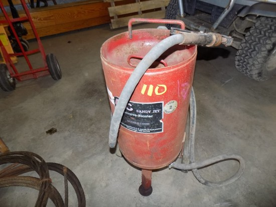 Red ALC Sand Blaster