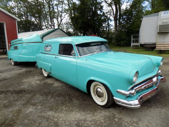 1954 Ford Courier, Custom Wagon (Sedan Delivery) Later Model 302 V8, Auto,