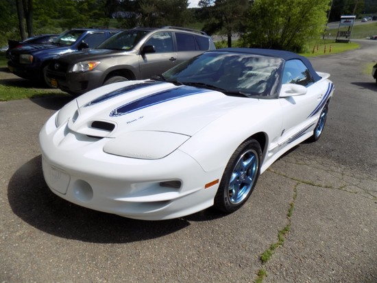 1999 Pontiac Firebird Trans AM Covertible, 30th Anniversary Edition, One of