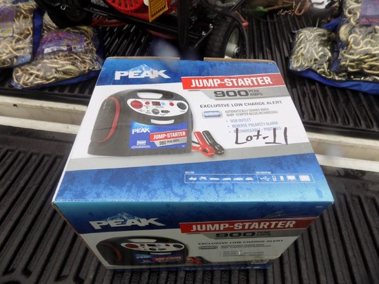 New Peak 900 Watt Rechargeable Jump Box