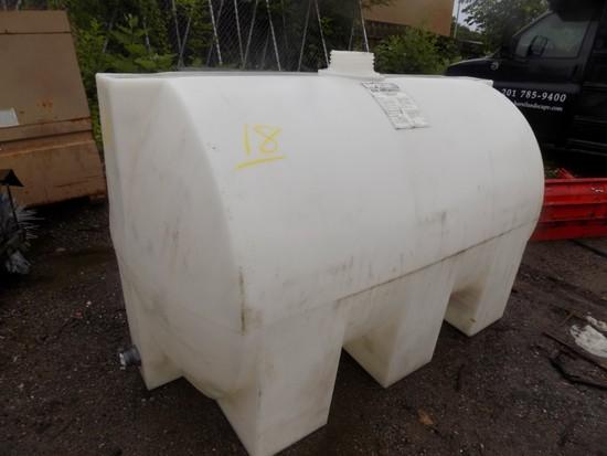 500-Gal. Poly Tank, White