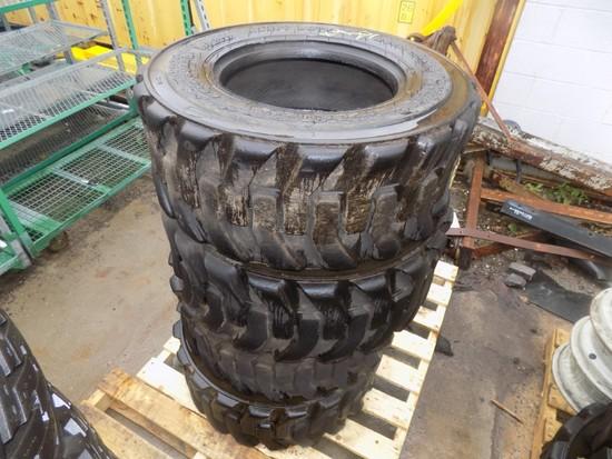 (4) 12-16.5 SSL Tires (4 x Bid Price)