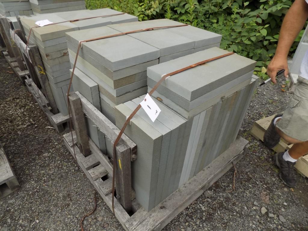 Top Quality Palletized Bluestone Auction