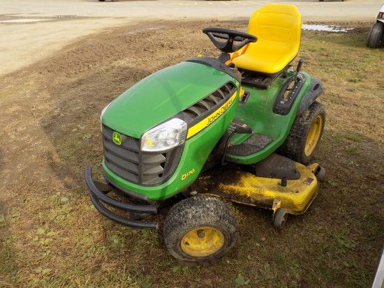 JD D170 Garden Tractor, Hydro, 48'' Deck