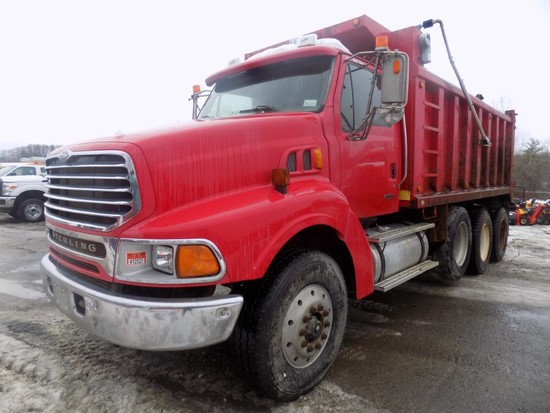 2004 Sterling 9500 Tri-Axle Dump Truck, 17' Steel Body, Cat C12 Eng., 8LL T