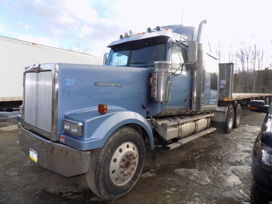 2007 Western Star Conventional Truck Tractor w/ Sleeper, Cat Acert C15 Eng.