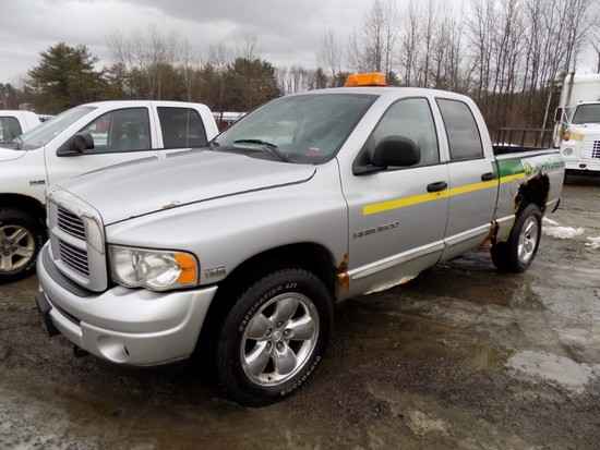 2004 Dodge Ram 1500, Silver, 4 Door Extended Cab, Automatic, 4WD, Hemi, 139