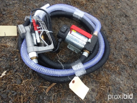 New 12V Transfer Pump w/ Hoses