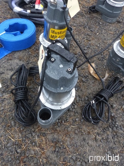 New Mustang MP4800 2'' Water/Sump Pump