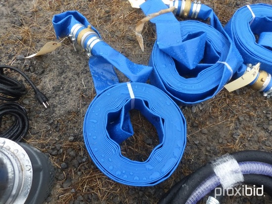 New 2''x50' Water Discharge Hose