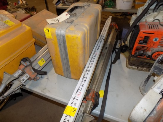 2GL Laser Transit w/ Tripod & Measuring Stick