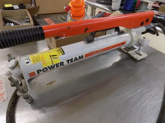 Power Team P55 10,000lb Porta Power Pump