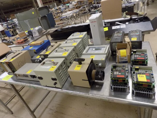 Contents of Table Top: Power Supplies, Auto Transformers, Variable Frequenc