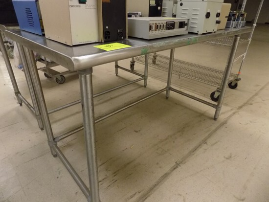 30''x60''x35'' Tall Stainless Steel Work Table