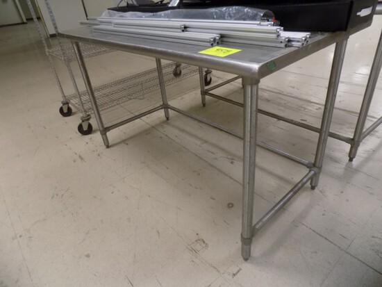 60'' x 30'' Stainless Work Table