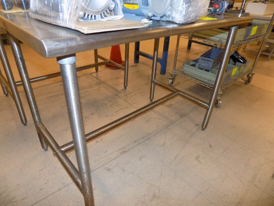 48'' x 30'' Stainless Work Table