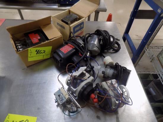 (2) Transformers, (2) Elec Drills, (3) Small Pumps, & Temp Control Module