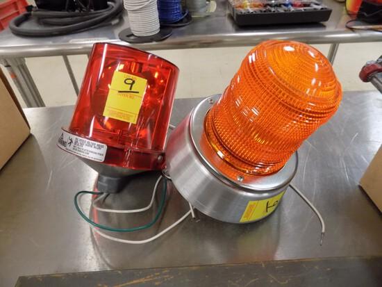 (2) 120v Flashing Lights
