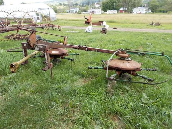 Wilson 3pth PTO Rake / Tedder, Model 4301311