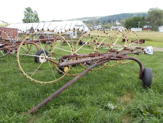 Morrill Rake 5-Wheel Hay Rake
