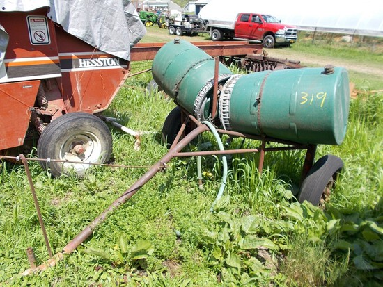 Pull-Type Homemade Crop Sprayer