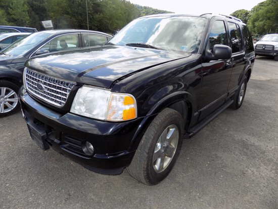 '03 Ford Explorer Limited, V8, Black, Leather, Sunroof, 3rd Row, 191,774 Mi