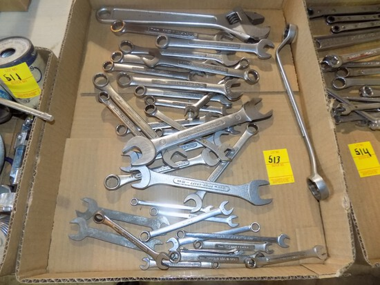 Large Qty of Metric Wrenches, A Couple Are Snap On, Mostly Craftsman & Cres