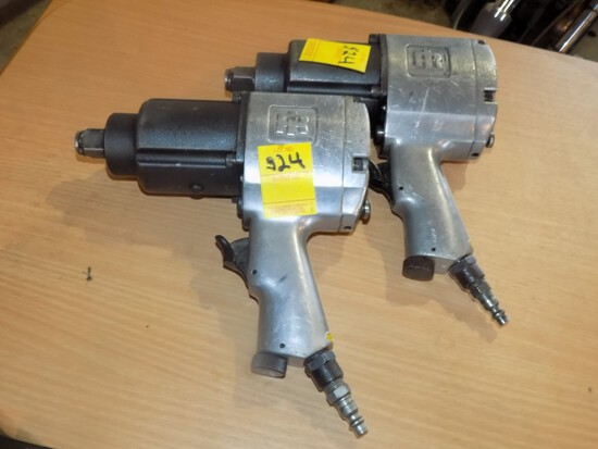 (2) Ingersol Rand 1'' Drive  ''Racing Air Gun'' Air Impact