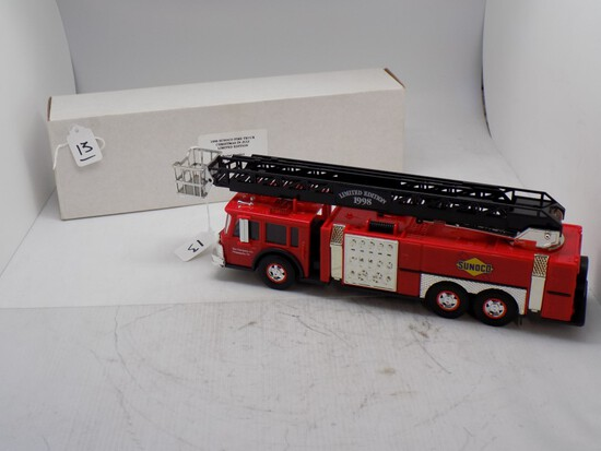 1998 Sunoco Fire Truck, Christmas in July Limited Edition, Serial # 001066,