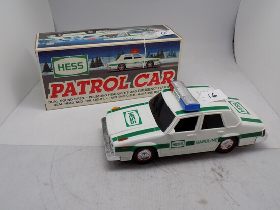 1993 Hess Patrol Car, Chrome is Starting to Pit