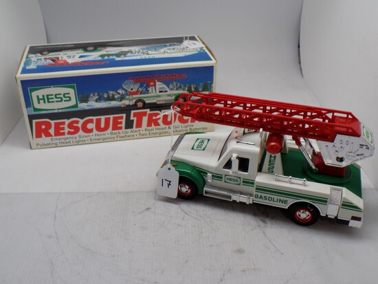 1994 Hess Rescue Truck, Chrome is Starting to Pit
