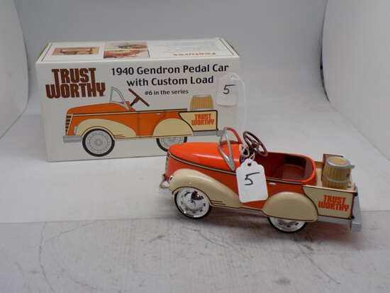 ''Trust Worthy'' 1940 Gendron Pedal Car w/ Custom Load, #6 in the Series by
