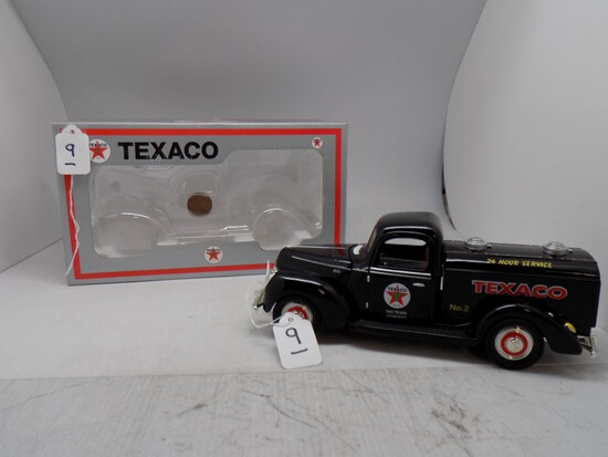 Texaco 1940 Ford Tanker No. 2 in 1:18 Scale by Taylor Sports, 1 of 750.