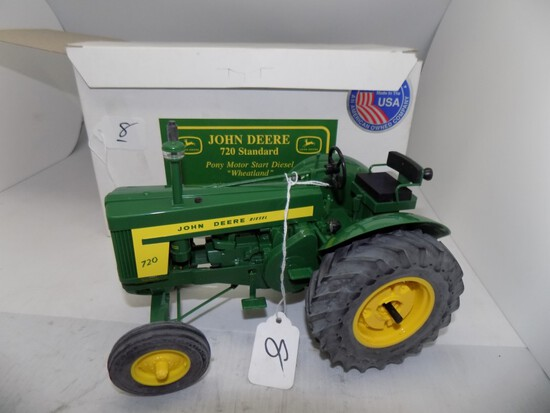 John Deere 720 Standard Pony Motor Start Diesel ''Wheatland'' Adjustable Fr