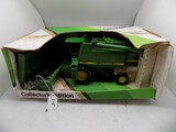 John Deere 9600 Combine in 1/28 Scale by Ertl, Collectors Edition, 1989 Spe