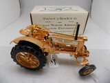 Gold Plated John Deere Model BW-40 ''General Purpose'' Tractor in 1/16 Scal