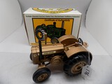 John Deere ''D,'' Gold Paint in 1/16 Scale b Ertl, 1894-1994 Minneapolis JD