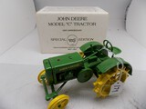 John Deere Model ''C'' Tractor in 1/16 Scale by Ertl, 65th Anniv 1993 Speci