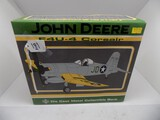 John Deere F4V-4 Corsair Vintage Airplane Bank by Spec Cast