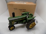 John Deere 730 in 1/16 Scale by Ertl, Old Played With Toy w/3 Pt Hitch and