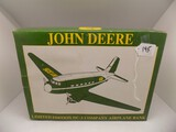 John Deere Limited Edition DC-3 Company Airplane Bank by Spec Cast, 1994