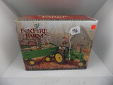 Fox Fire Farm John Deere Model ''B'' Tractor and Wagon w/Figurines and Corn