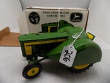 John Deere 620 Orchard Tractor, 1957-1960 in 1/16 Scale by Ertl, Two Cylind