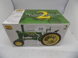 John Deere ''The Model BH-40'' Unstyled Tractor in 1/16 Scale by Ertl, Seco