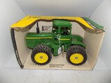 John Deere 4WD Articulating Tractor, No Model, in 1/16 Scale by Ertl, Stock