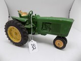 John Deere 3010 w/3 Pt. Hitch in 1/16 Scale by Ertl, Nice Old Toy, Medal Wh