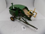 John Deere 12-A Combine in 1/16 Scale by Ertl, In Nice Played With Conditio