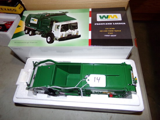 1st Gear MR Front End Loader Refuse Truck With Box, ''Waste Management'' 1: