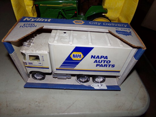 Nylint ''Napa City Delivery'' Cabover Box Truck No. 9140-N, New In Box. Box